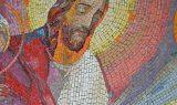 mosaic-supper-jesus-bread-wine-halo-royalty-free-thumbnail