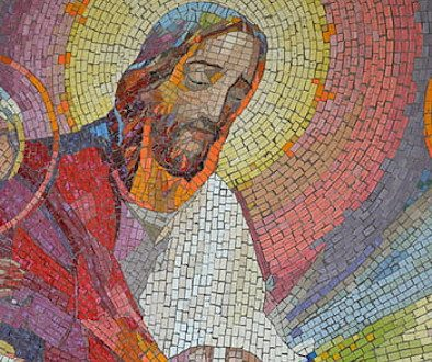 mosaic-supper-jesus-bread-wine-halo-royalty-free-thumbnail