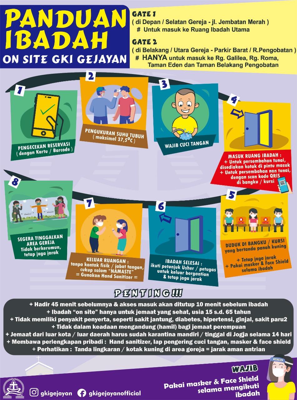 Ibadah On Site GKI Gejayan