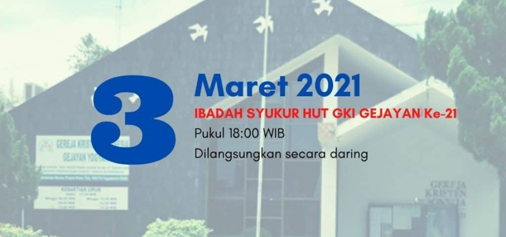 Ibadah HUT GKI GEJAYAN - 21